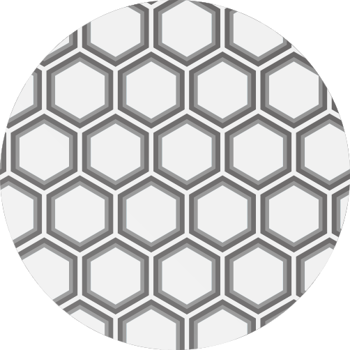 亀甲型(Hexagonal)